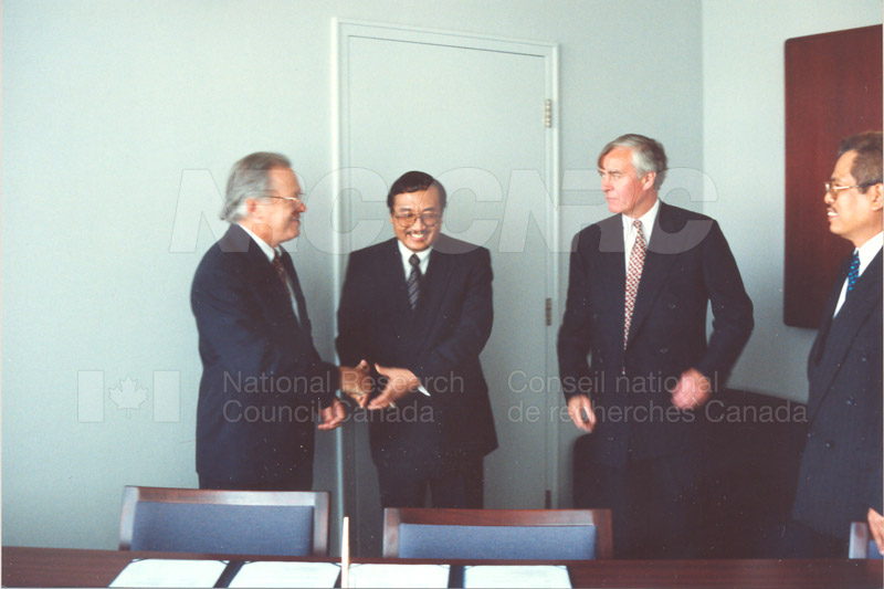 Agreement Signing Indonesian Institute of Sciences 10 Sept. 1997 010