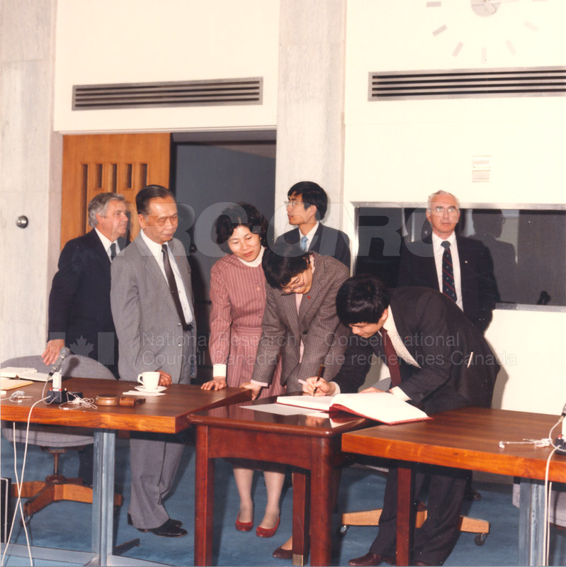 State Science and Technology Commission from China 25 April, 1985 007