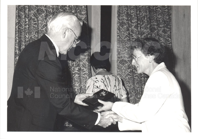 25 Year Service Presentations Oct. 29 1986 007