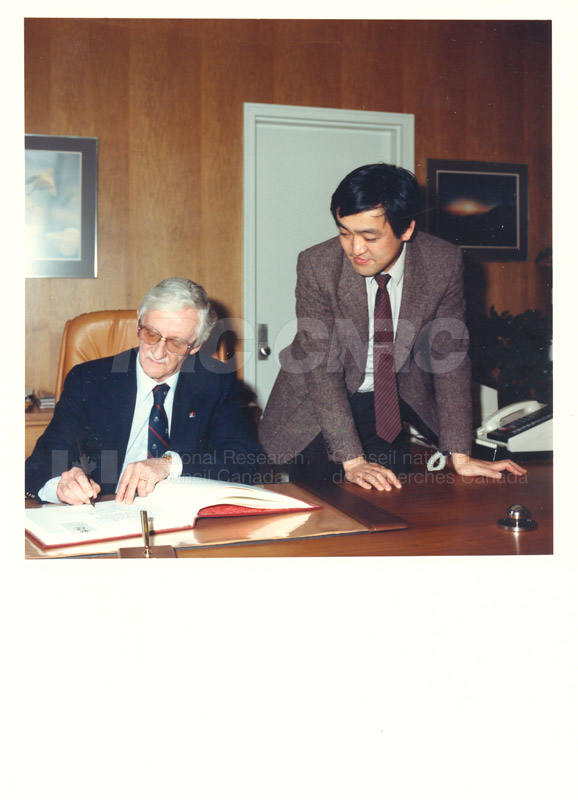 Dr. Sakamura - MITI Japan 1986 005