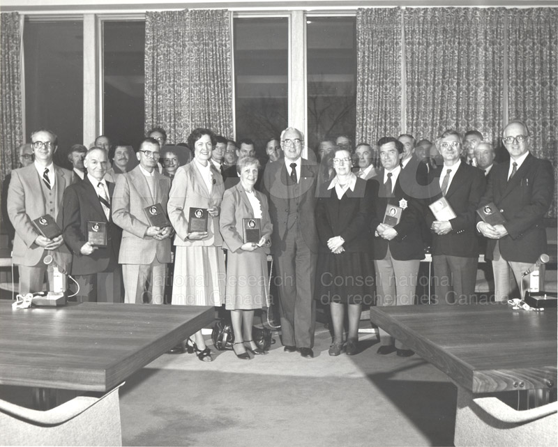 25 Year Service Plaques Presentations 1981 029