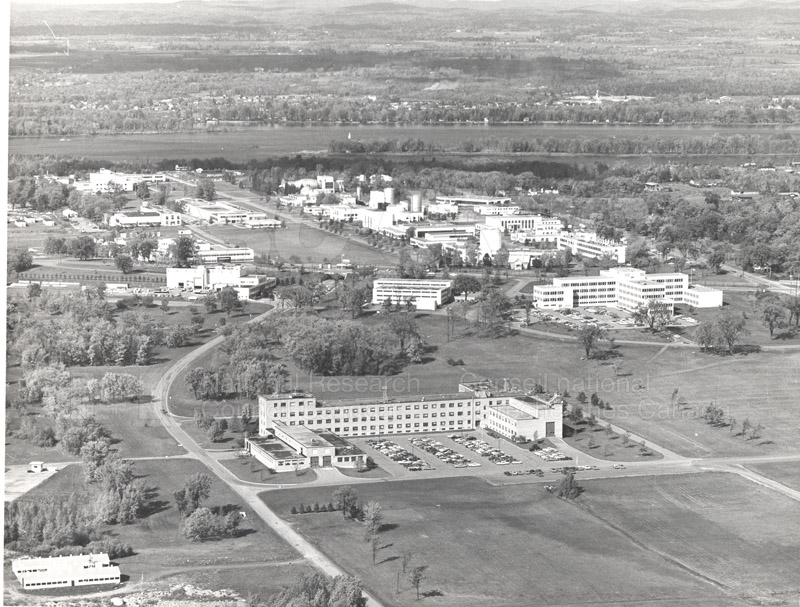 Montreal Road Campus Aerial View Folder 2