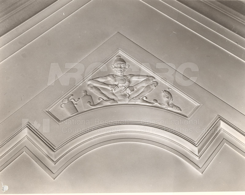 100 Sussex Drive Ceiling Motif- Office of the President