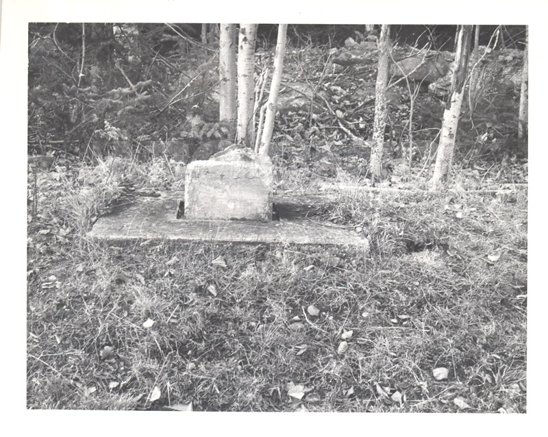 Observatory- Magnetic Survey Point at Douglas, York Co. N.B. Nov. 25 1953 002