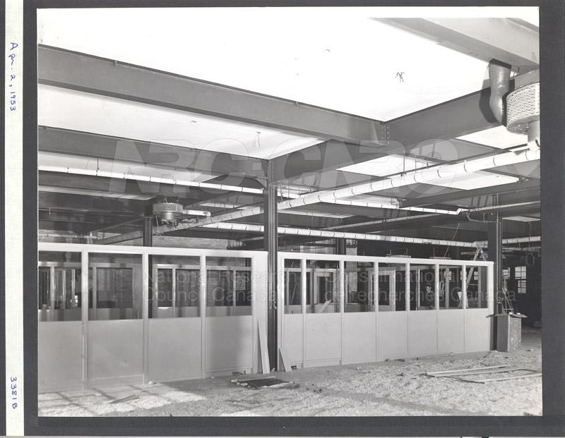 Construction of M-50 April 2 1953 #3381 001