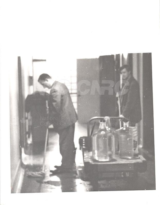 Wilf Yophe and John Berrigan c.1958