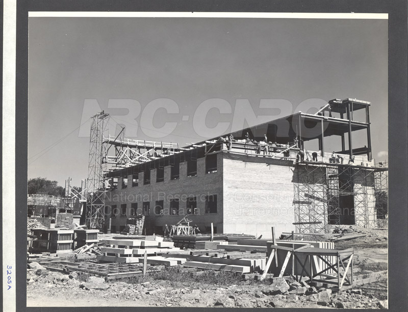 Construction of M-50 Summer 1952 #3205 001