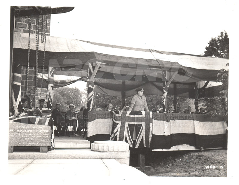 Aerodynamics Bldg -Annex- Laying the Cornerstone- July 25, 1940 003