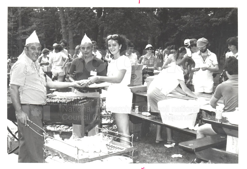 NRC Employees' Picnic Vincent Massey Park 1984 006