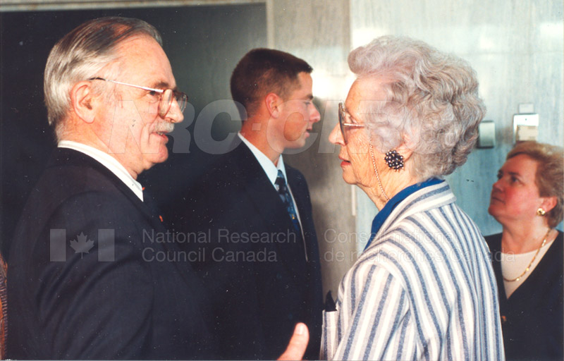 Canadian Society of Mechanical Engineering (CSME) honouring the Division of Mechanical Engineering 25 Aug. 1997 013
