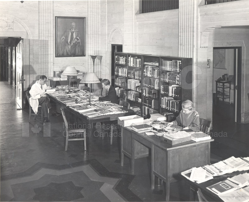 National Science Library- 100 Sussex Drive- Main Branch 1957 001