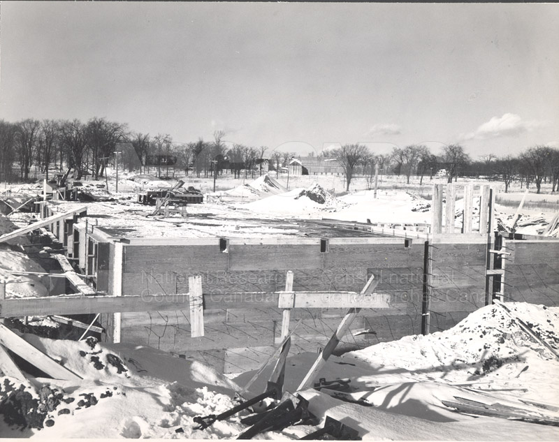 Administration Building Construction 1950s 006