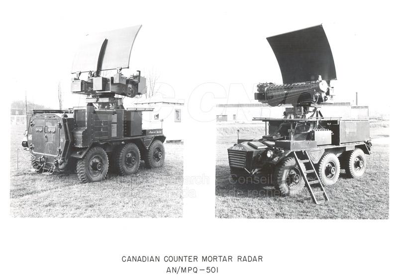 Radar AN-MPQ-501 1958 001