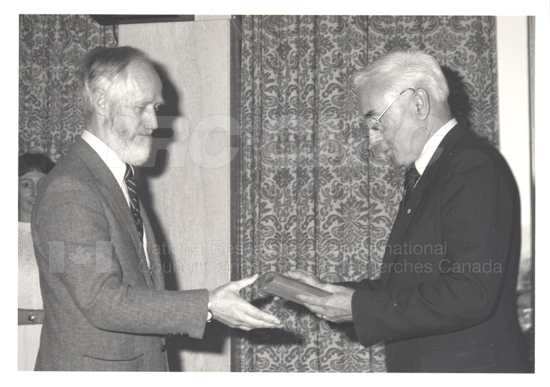 25 Year Service Presentations Nov. 1985 001