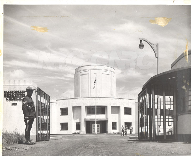 Main Entrance- Aeronautical Building in Background