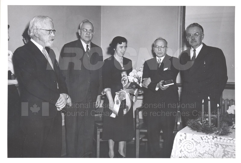Ernie Hodgson Retirement c.1953 002