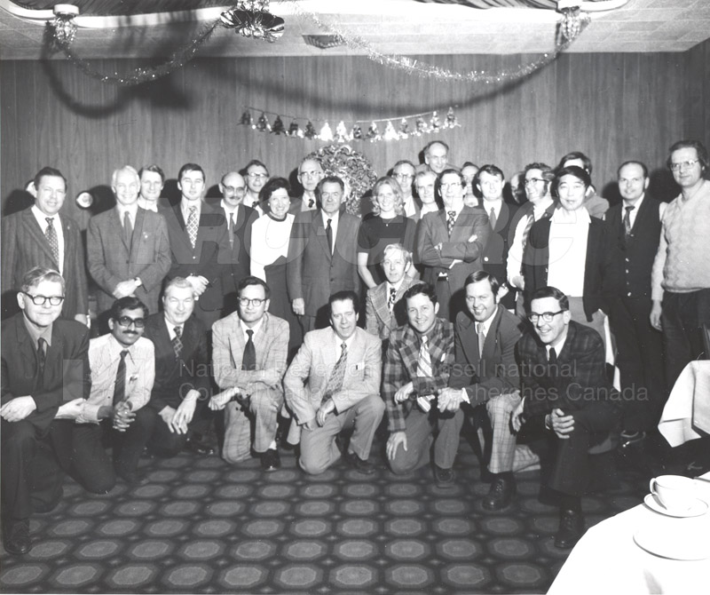 Electrical Engineering Christmas Party from Moore Collection Arc. No. 93.09 c.1960
