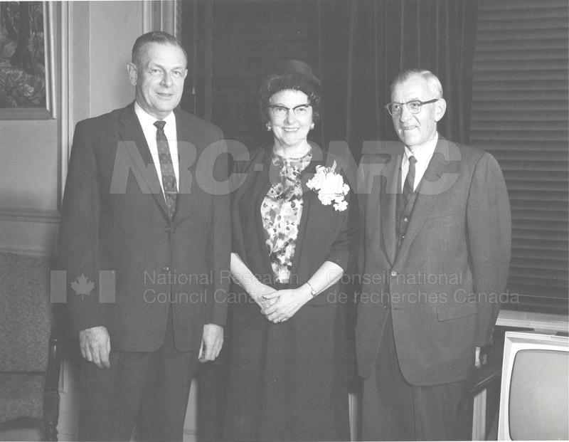 Retirement- Mr. Biggar (Head General Services) 1965 002