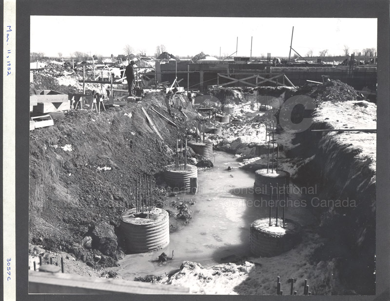 Construction of M-50 March 11 1952 #3057 002