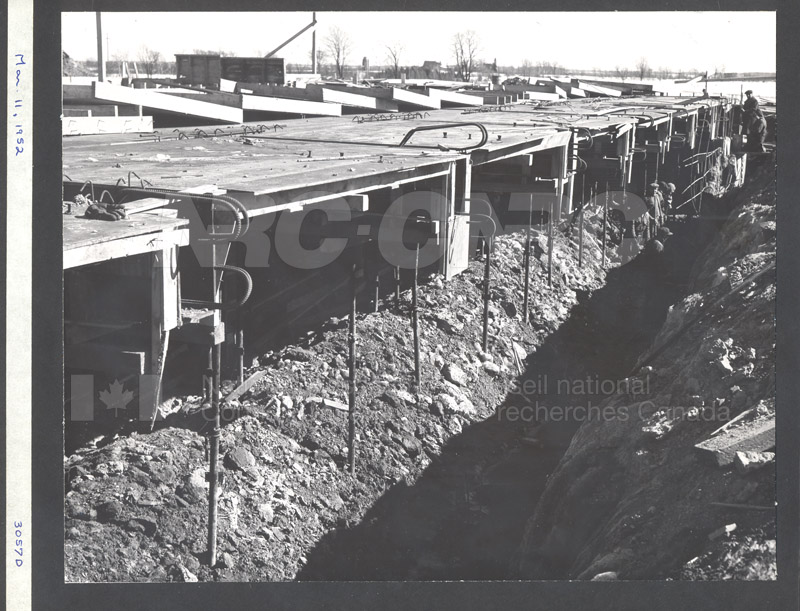 Construction of M-50 March 11 1952 #3057 003