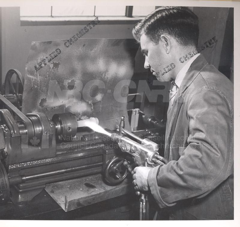 Metallurgy- Preparation of Catalytic Silver Deposits June 1955