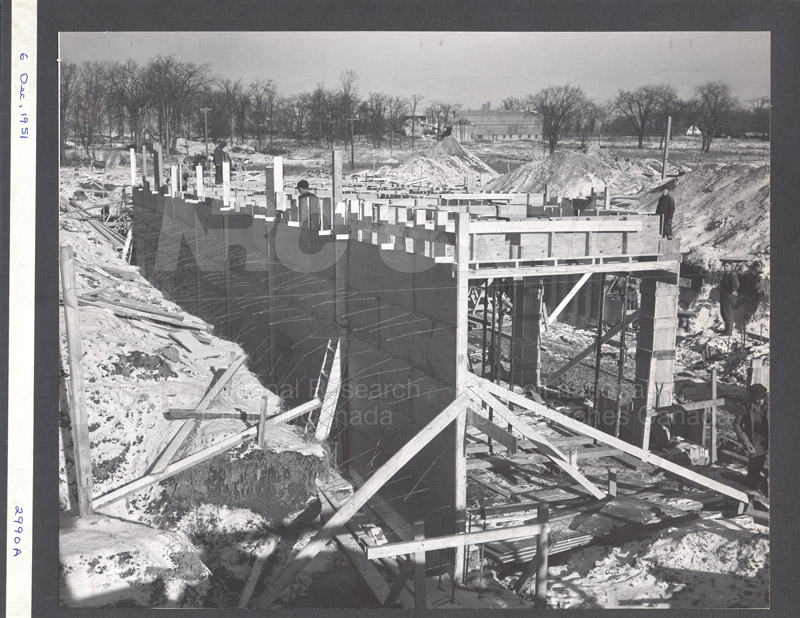 Construction of M-50 Dec. 6 1951 #2990 001