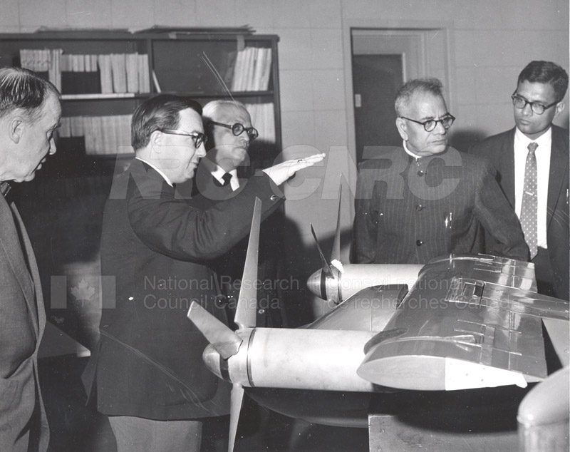 Visit of Mr. Krishnamachari, India 1963 001