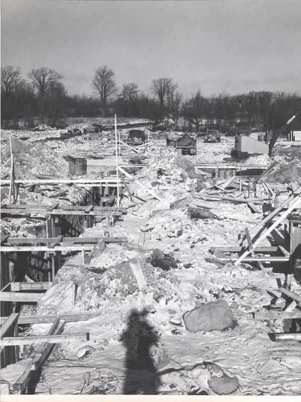 Administration Building Construction 1950s 016
