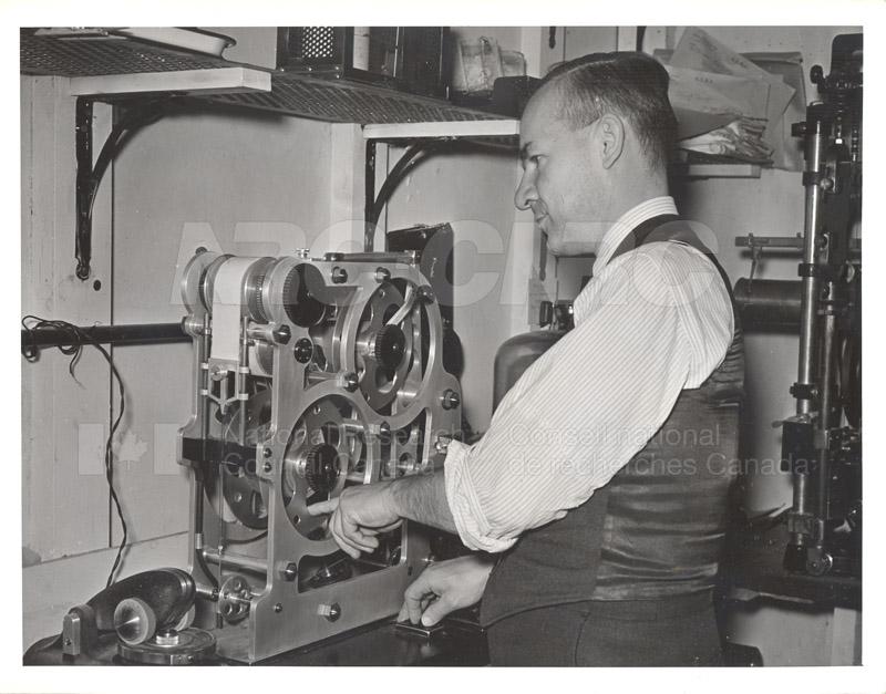 P. Larose- Testing Wear c.1944