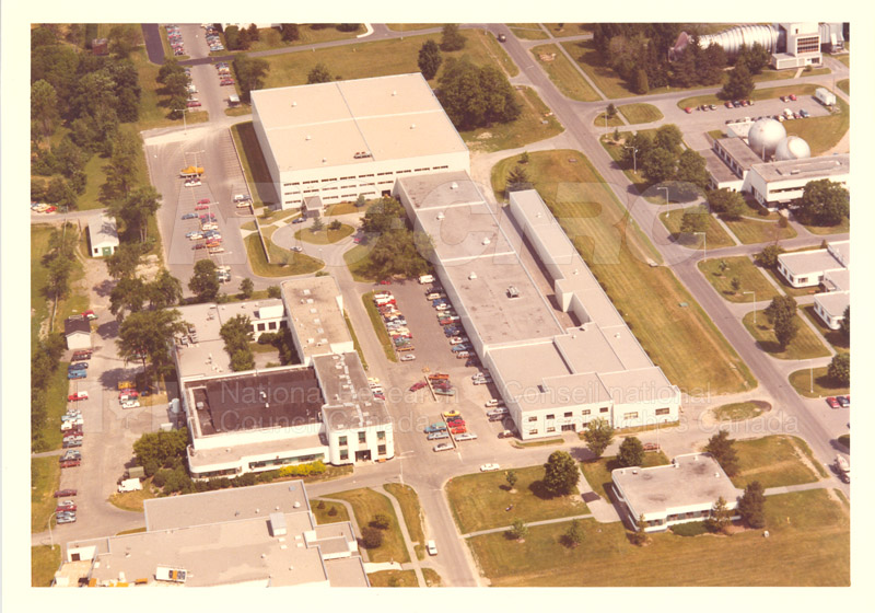 Montreal Road Campus Aerial View 1960's 011