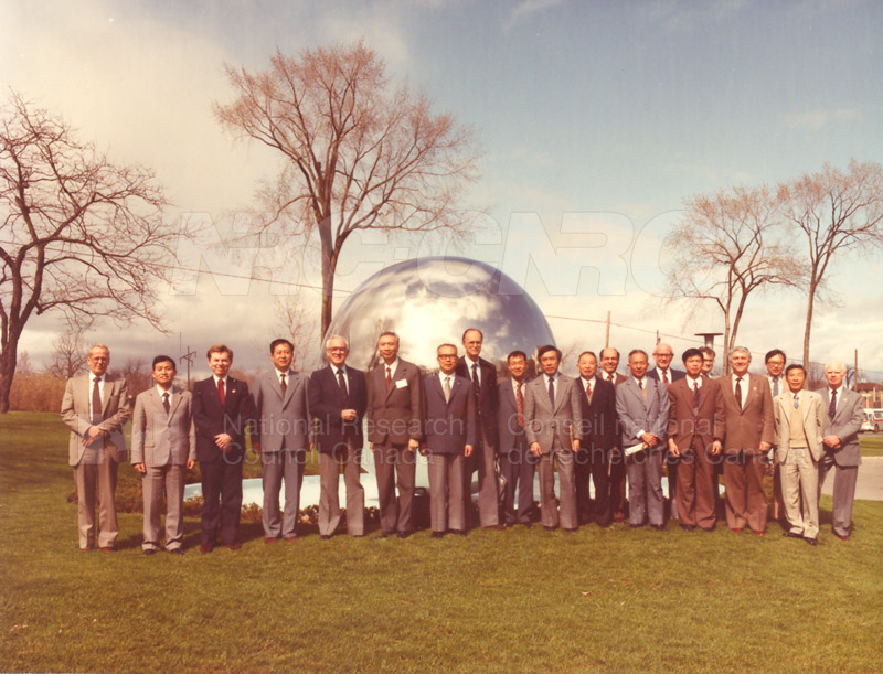 Visit to Canada of a Delegation from the Chinese Academy of Sciences April 28-May 11 1983 002