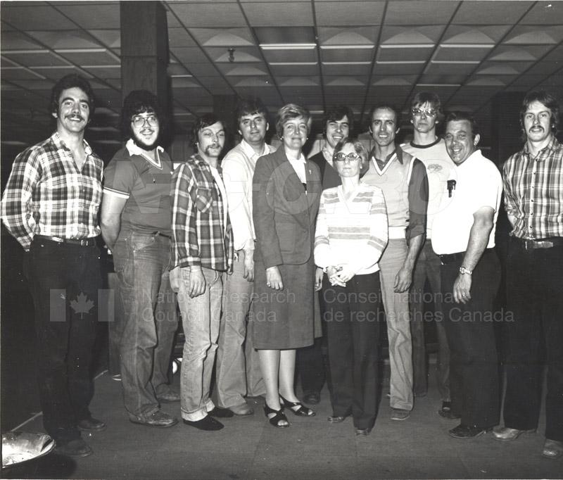 Group Portrait NRC Staff Club c.1980