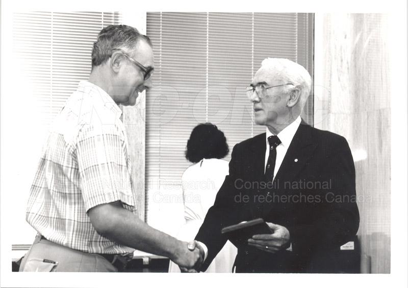 25 Year Service Presentation Sept. 12 1989 016