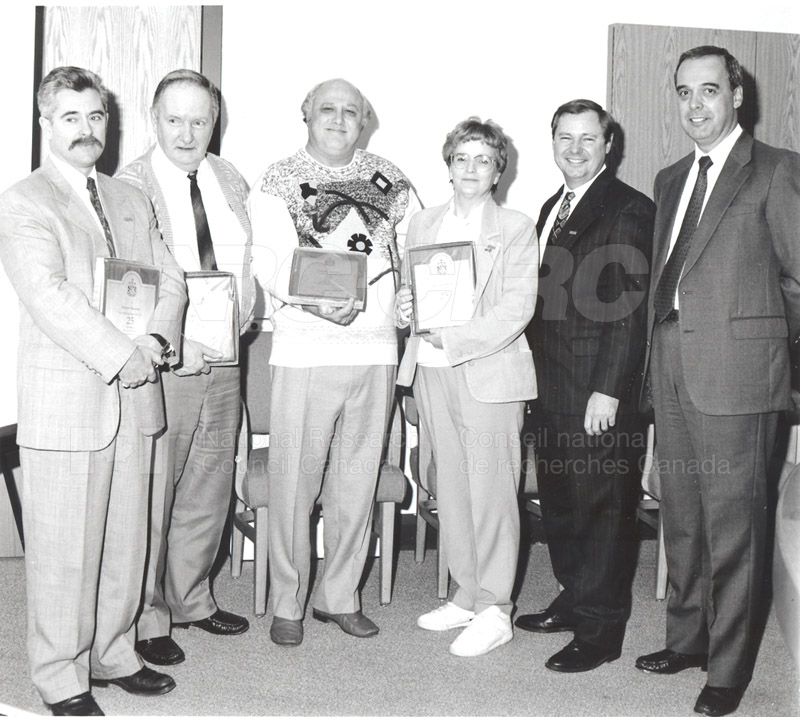 25 Year Service Plaques Presentations 1993