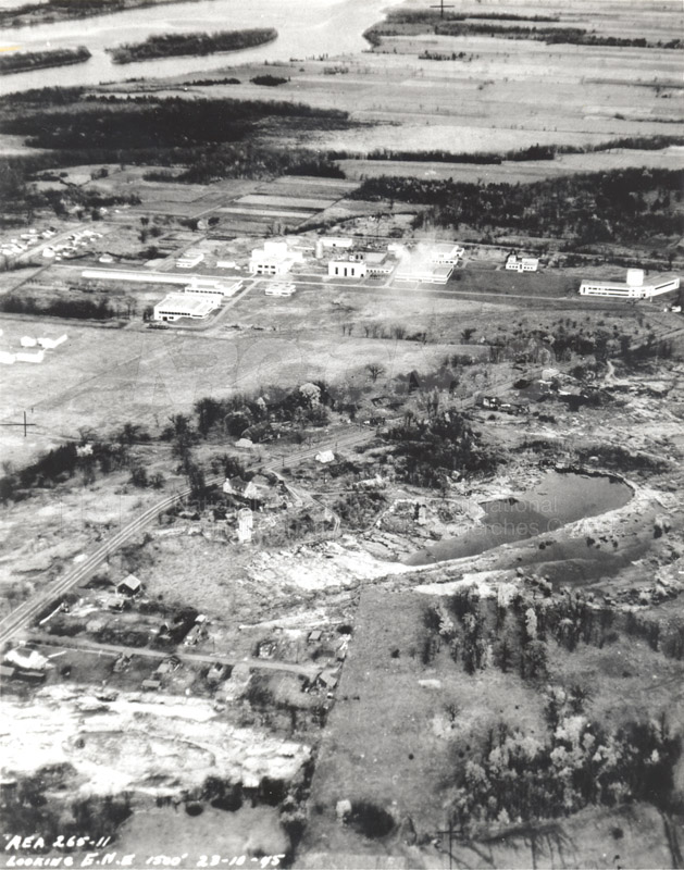 Montreal Road Campus Aerial View 1960's 008