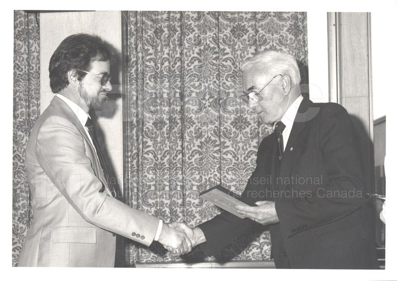 25 Year Service Presentations Nov. 1985 007