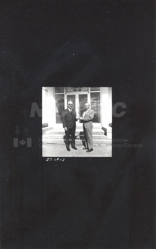 A. Gauthier Retirement (Fuels & Lub.) 1967 001
