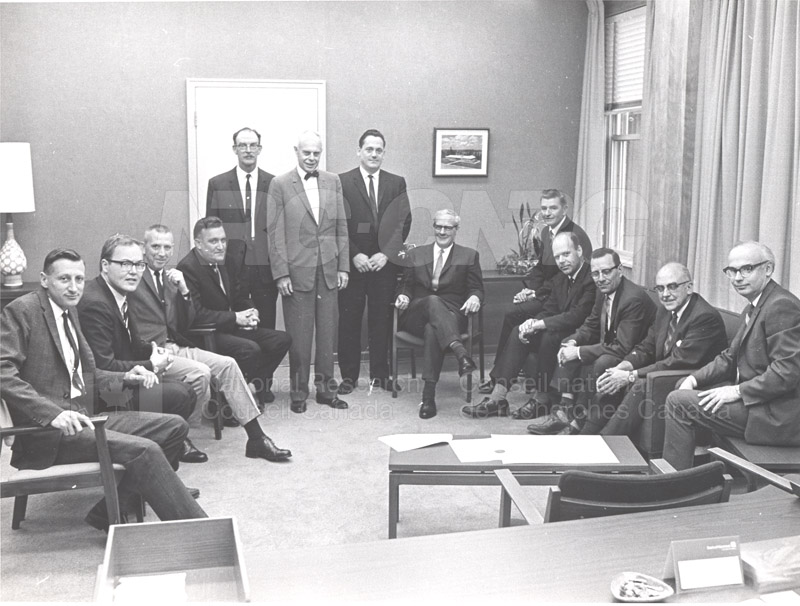 First Collective Agreement with R.C.E.A. 1968 001