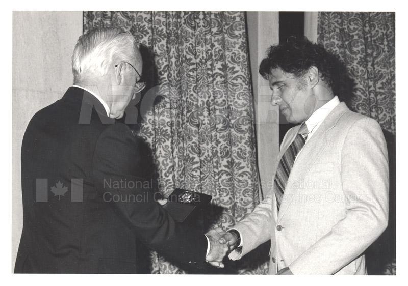 25 Year Service Presentations Oct. 29 1986 009