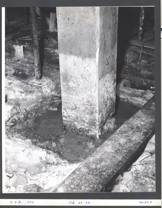 Construction of M-50 Feb. 8 1952 #3029 007