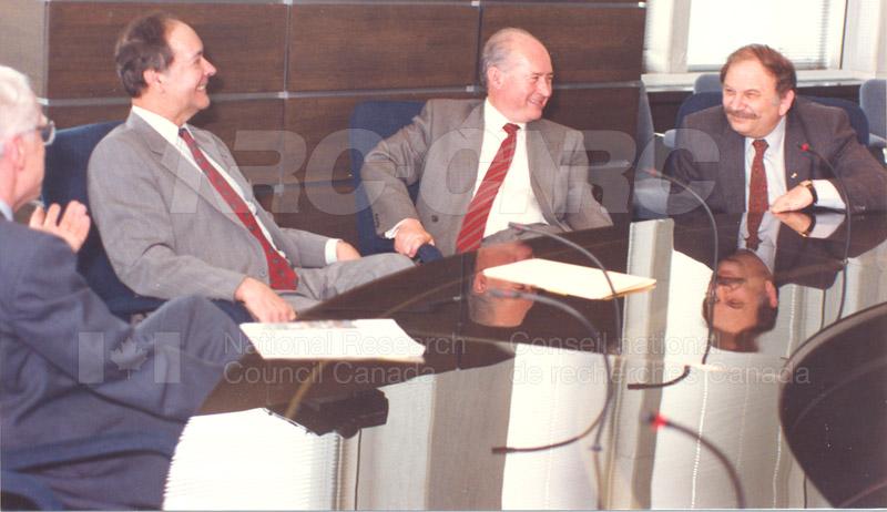 Cyprus Pres. visits NRC, May 1 1990 004