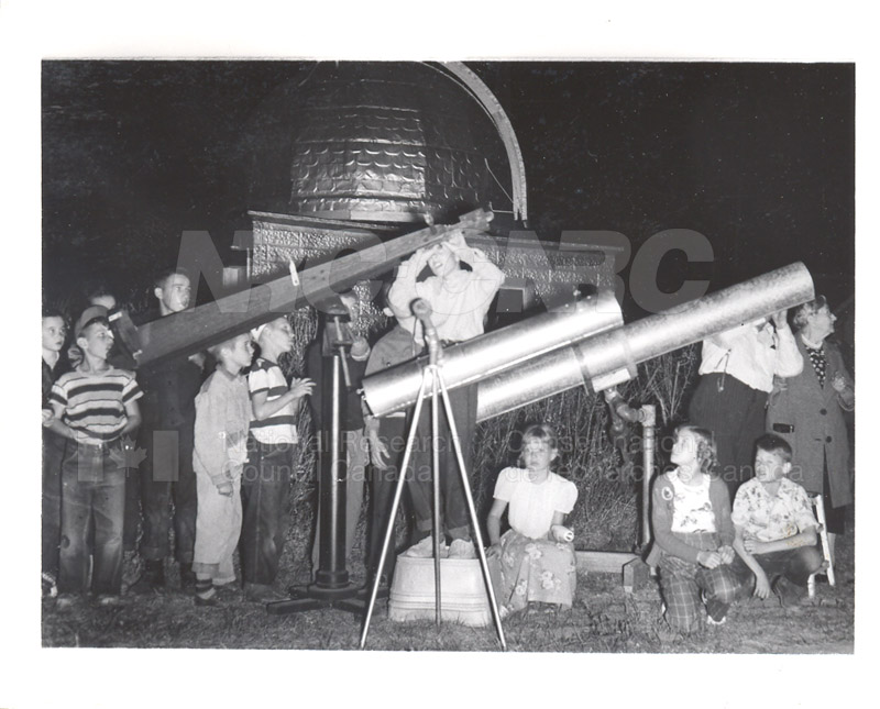 Eclipse of the Moon Sept. 10 1950