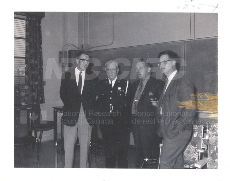 C.R. Masson, P.A. Whynot, W.D. Jamieson Commissionaire Hayden