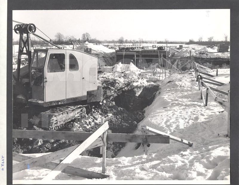 Administration Building Construction 1950s 005