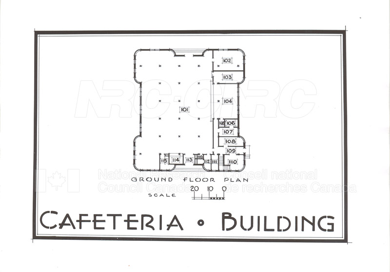 Buildings- Floor Plans Sept. 1948 009
