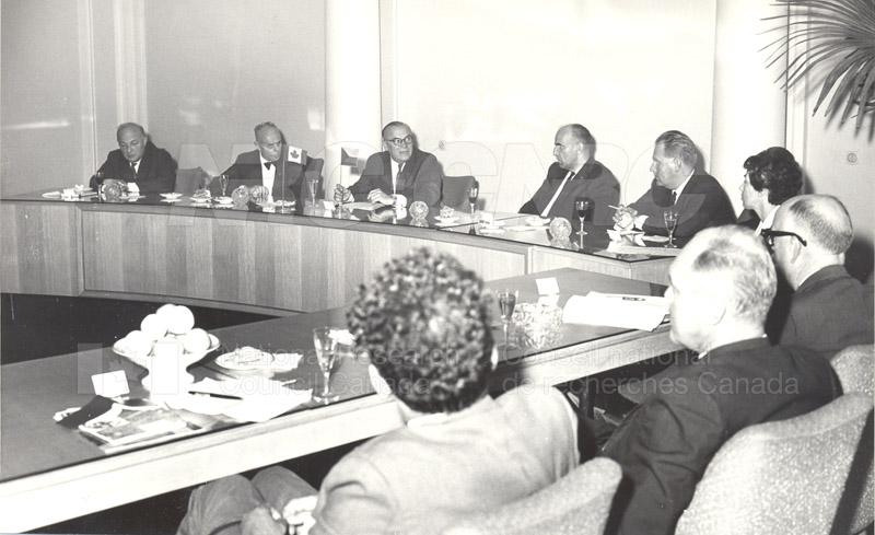 Academy of Science- Dr. Ballard and Dr. Jaroslavkozenik, Czechoslovakia 1966 001