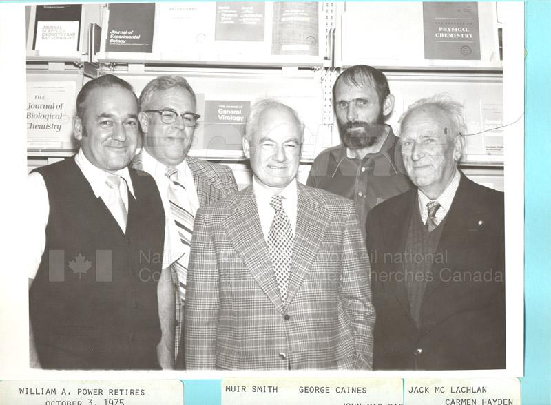 Retirements William A. (Bill) Power 1975 006