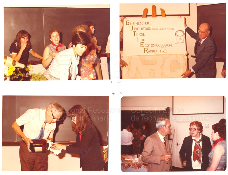 Dr. G.C. Butler Retirement 1978 003
